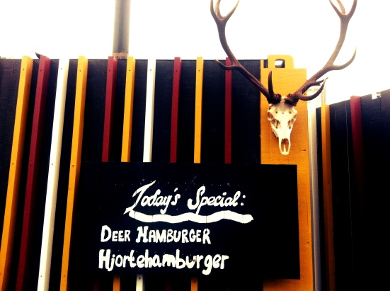 deer hamburger